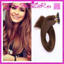 18-28″ Indian Prebonded U shape tip Nail Hair Keratin Hair Extensions Human remy Hair 8A 1G/S 100G/PC 300G/LOT STOCK Free Ship