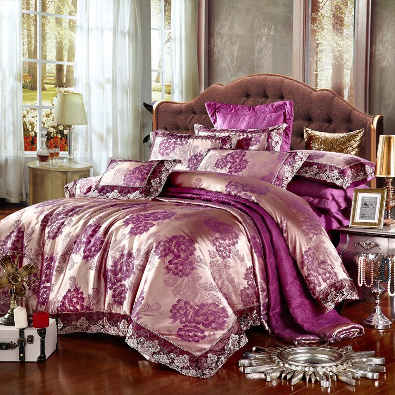 luxury brand home textile beding set quality cotton modal bedding sets 4 pcs reactive print duvet cover bed sheet pillow case(China (Mainland))
