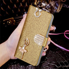 """Buy Luxury Bling Liquid Glitter Cover ZTE Blade X3 ZTE Blade D2 Blade T620 5.0"""" Cover Flip PU Leather Phone Coque Card Slot for $2.79 in AliExpress store"""