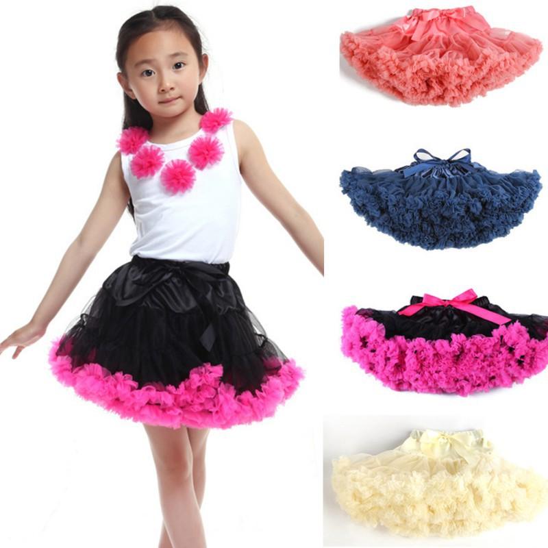 Гаджет  0-10Y Children Kid Baby Girls Multilayer Tulle Party Dance Cake Tutu Skirt None Детские товары