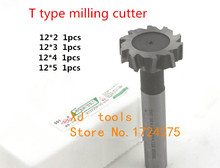 Buy Free 4pcs/set 12mm Straight shank T cutter superhard T T slot cutter cnc milling machine tool12mm * 2mm 3mm 4mm 5mm for $23.42 in AliExpress store