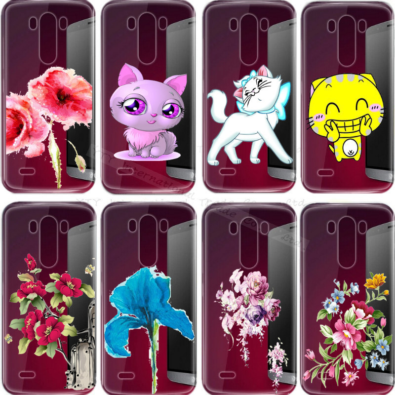 2016 Newest Painting Soft Silicon Case LG G3 Optimus Phone Cover Shell Cases D855 D850 14 Different Styles - Elite Store For Mobile Accessories_MP3_Jewelry store