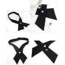 New Design Adjustable Cross Tie/Fashion Men's Women's Bowtie/Unisex Wedding Bowtie(China (Mainland))