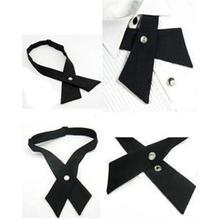 New Design Adjustable Cross Tie Fashion Men s Women s Bowtie Unisex Wedding Bowtie