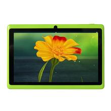 Free shipping 7″ RK2928  Dual Core 1.5GHz three Colors Q88 7 inch Tablet PC 800 x 480 Dual Camera 2500mAh 8GB