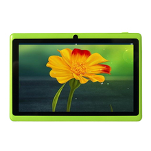 "Free shipping 7"" A33 Quad Core 1.5GHz  four Colors Q88 7 inch Tablet PC 1024 x 600 Dual Camera 2800mAh 8GB(China (Mainland))"
