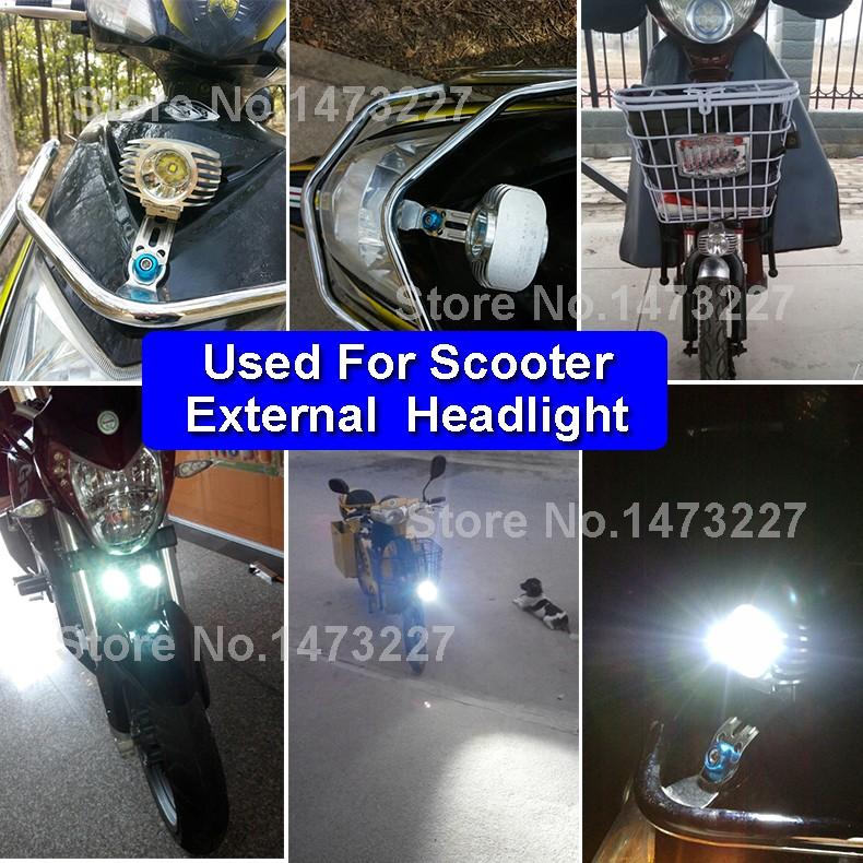 LED DC 8-85V Motorbike Motorcycle External Headlight Fog DRL Lamp Bulb Light Scooter ATV Bike High Quality For Driving Hunting (11)