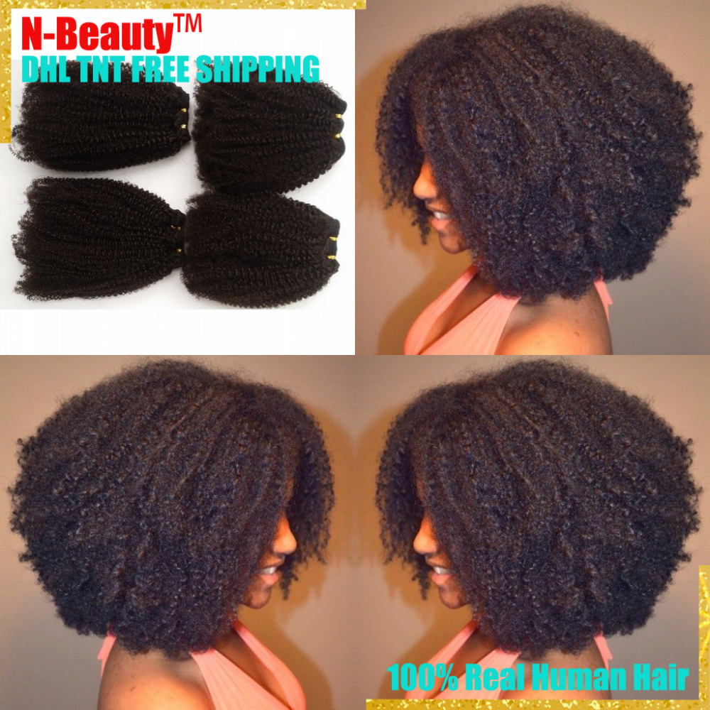 8A Peruvian Curly Virgin Hair Wefts 4PCS/LOT Free Shipping Peruvian Virgin Hair Weave Bundles Peruvian Afro Kinky Curly Hair<br><br>Aliexpress