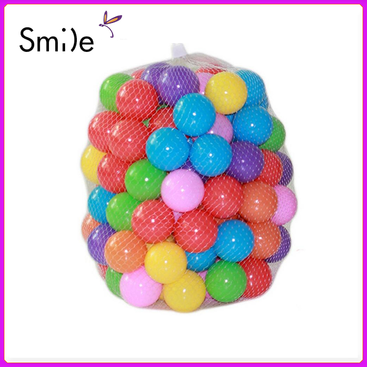 Hot 100pcs/lot Eco-Friendly Colorful Soft Plastic Water Pool Ocean Wave Ball Baby Funny Toys stress air ball outdoor fun sports<br><br>Aliexpress