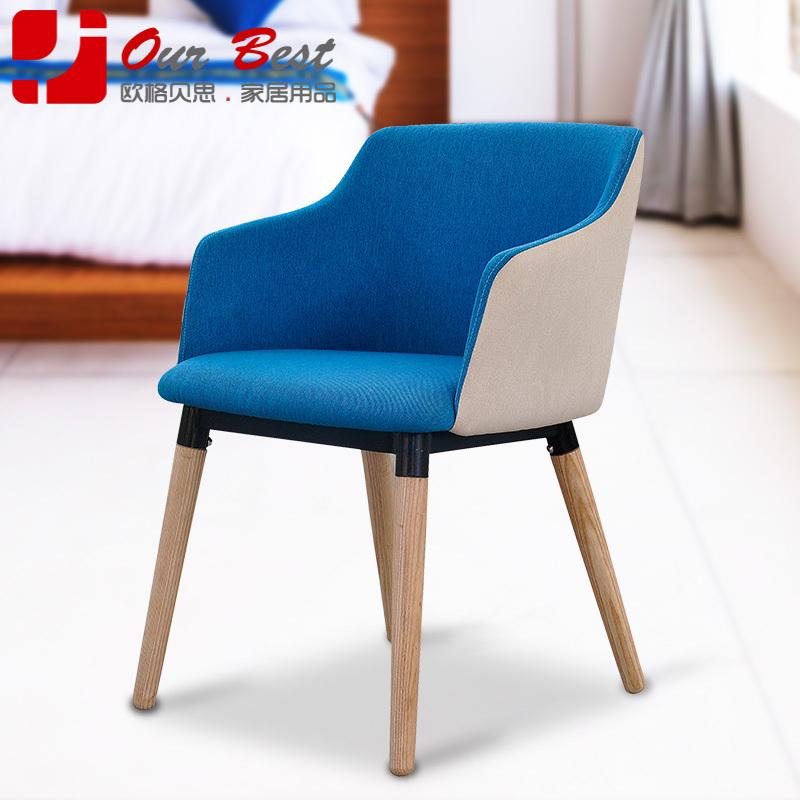 olger beth modern cloth chair stylish simplicity solid