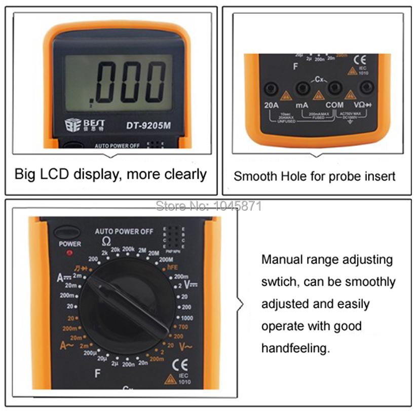 M050 цифровой мультиметр
