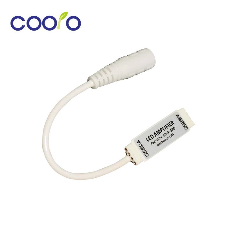 Mini RGB LED Amplifier DC5-24V 144W 12A For RGB color 5050, 3528 led strip,free shipping(China (Mainland))