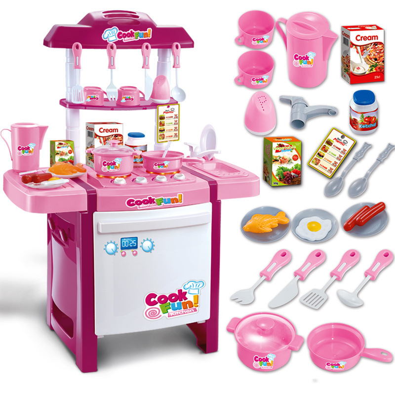 kids kitchen play set for boys and girls interactive children 39 s play