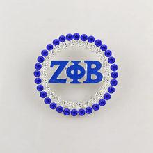 DROP Pengiriman Zeta Phi Beta Sorority Mutiara Pin Zpb Bros Perhiasan(China)