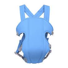 Multifonctionnel porte-bébé respirant épaule réglable sangle sûre confortable fronde sac à dos ergonomique hanche siège Portable(China)