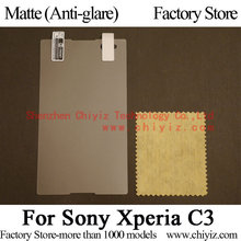 Matte Anti-glare Screen Protector Guard Cover protective Film For Sony Xperia C3 dual D2502 D2533