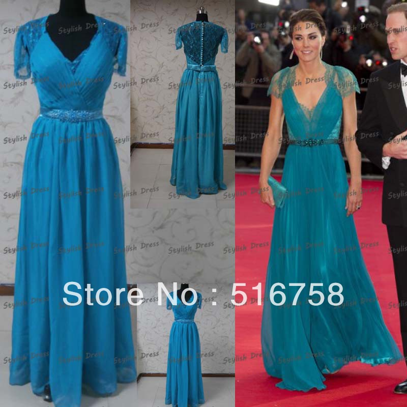 Free Shipping Real Bridesmaid Dress Celebrity Red Carpet ...