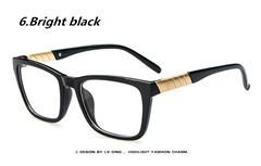 2015 New Reading Glasses Fashion Brand Women Plain Glasses Men Clear Eye Glasses Frame High Quality Vintage Glasses For Women(China (Mainland))