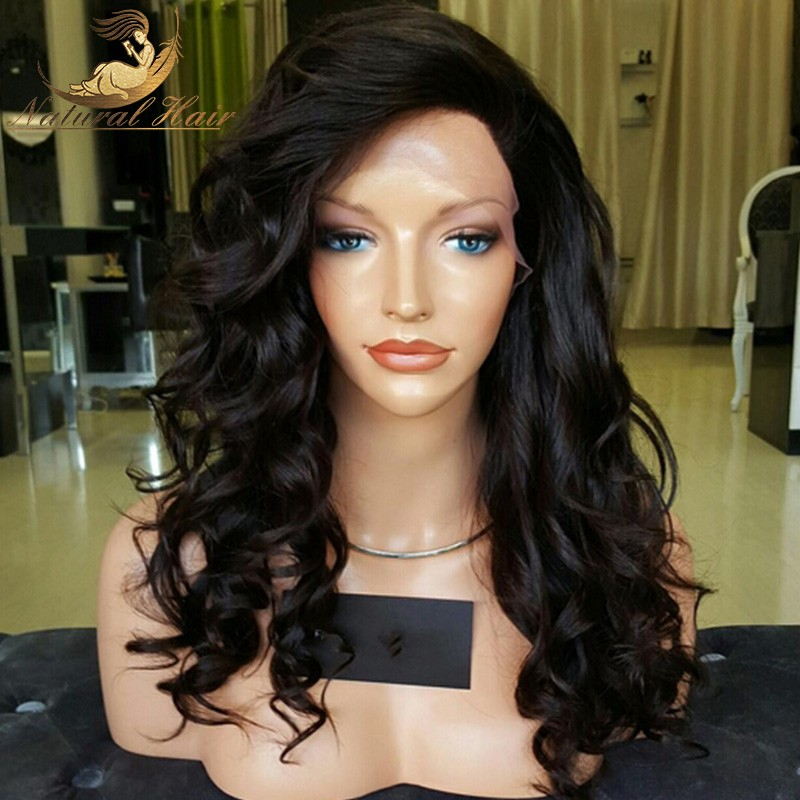 Full Lace Human Hair Wigs Loose Wave Cheap Human Lace Wigs Brazilian Full Lace Virgin Human Hair With Baby Hair Lacefront Wigs