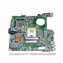 Buy DAZQSAMB6F1 NBM7511001 NB.M7511.001 acer aspire E1-471 Laptop motherboard NVIDIA GeForce GT630M 1GB HM77 mainboard for $91.08 in AliExpress store