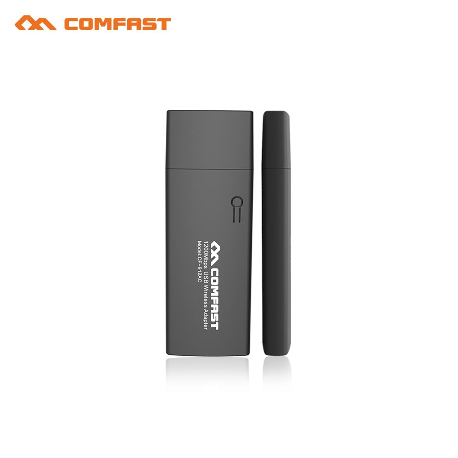 RTL8812AU Comfast 1200Mbps dual-band 2.4GHz+5.0GHz USB Wireless adapter WIFI Dongle / Wi Fi Receiver for MAC/LINUX/Windows7/8/(China (Mainland))