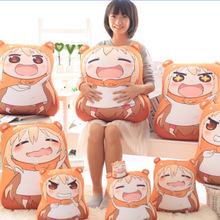 2015 New Sankaku Head Himouto Umaru Chan Umaru Doma Cosplay MARMOT Short Velvet Puppets And Humanoid Doll Free Shipping 32*30cm(China (Mainland))