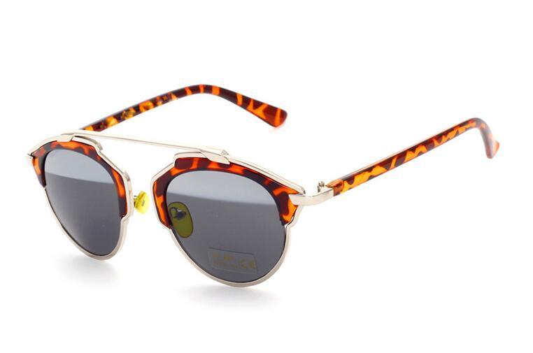 Бренд CRIUS 2016 новых женщин солнцезащитные очки для женщин солнцезащитные очки óculos де золь feМиниno старинные большие ретро двухцветный линзы