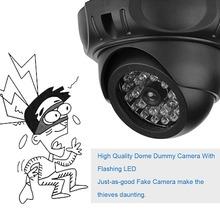 Fake Dummy Camera Surveillance Security CCTV Dome Dummy IP Camera With LED Flash Dummy Camera outdoor