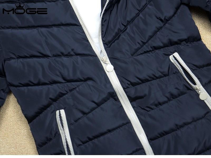 MOGE black long winter jacket women warm fashion winter coat doudoune femme jaqueta feminina casacos de inverno feminino