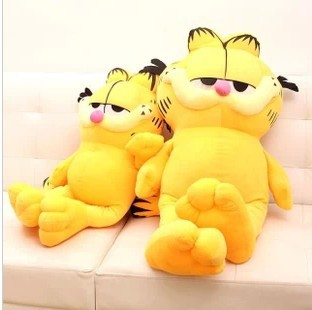 Plush toy 80cm Garfield plush doll new style factory supply Christmas gift freeshipping(China (Mainland))
