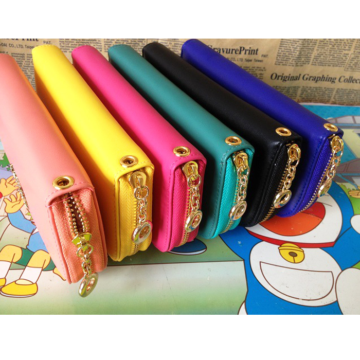 hermes kelly replica - 2014 New ! Candy Color Diamond Zipper Long Purse Wallet Girls ...