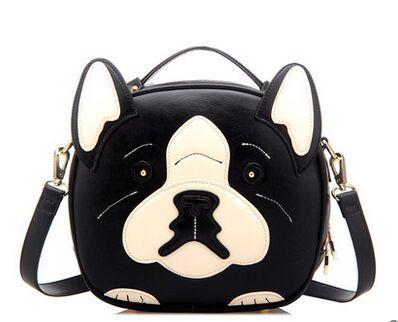 Super cute dog shape shoulder bag exclusive original new animal pattern luxury handbags high grade fine