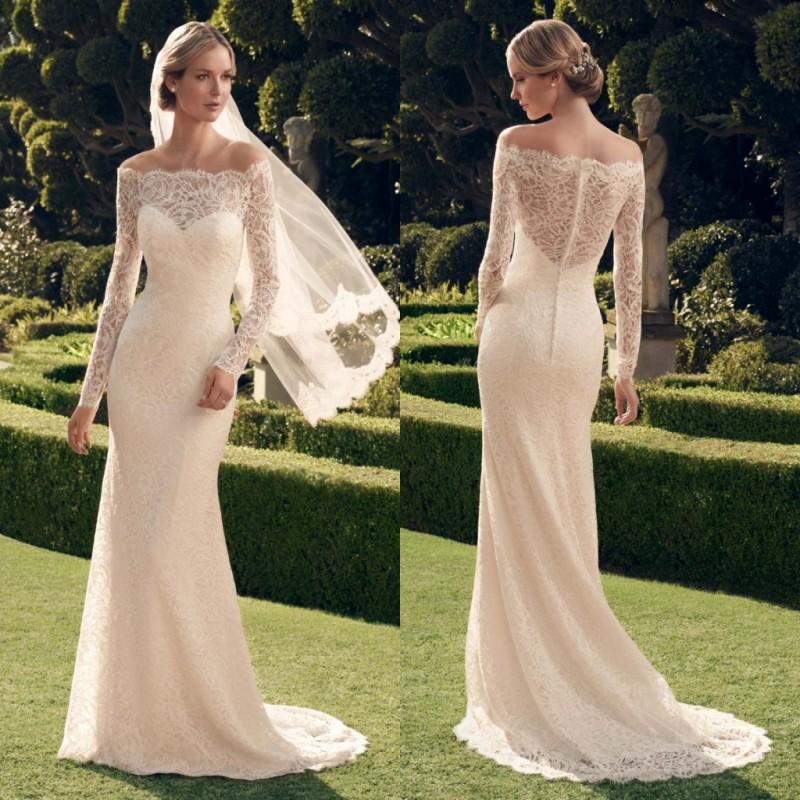 Long ivory vintage dresses - Best dress image