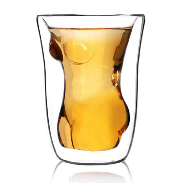 NEW Crystal Sexy Women Shot Glass Cup Beautiful Naked Lady Body Novel Shot Glass Beer Whiskey Wine Drinking Cup(China (Mainland))