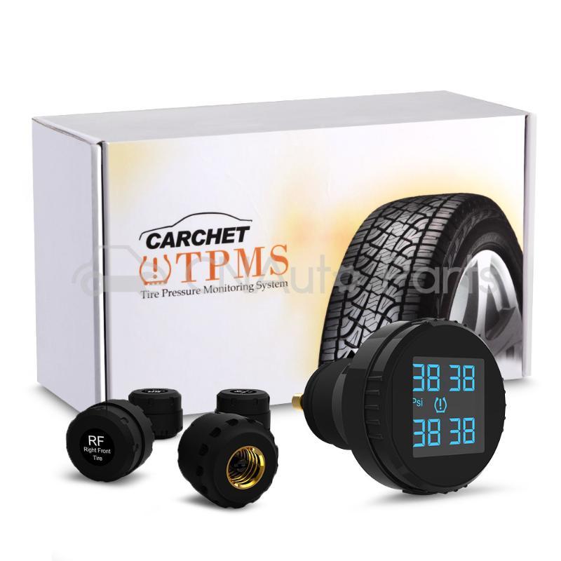 Tpms система контроля давления в шинах+4 внешних датчиков прикуривателя