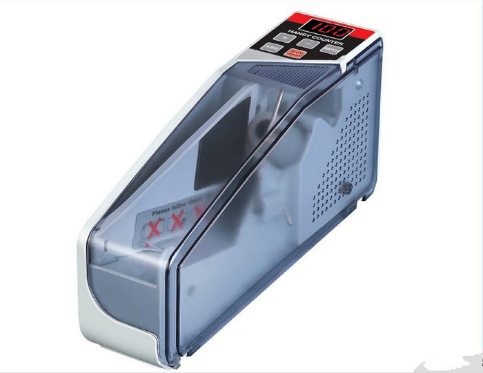Mini Portable Handy Bill money counter for most currency notes Counting Machine EU-V40 financial equipment wholesale(China (Mainland))