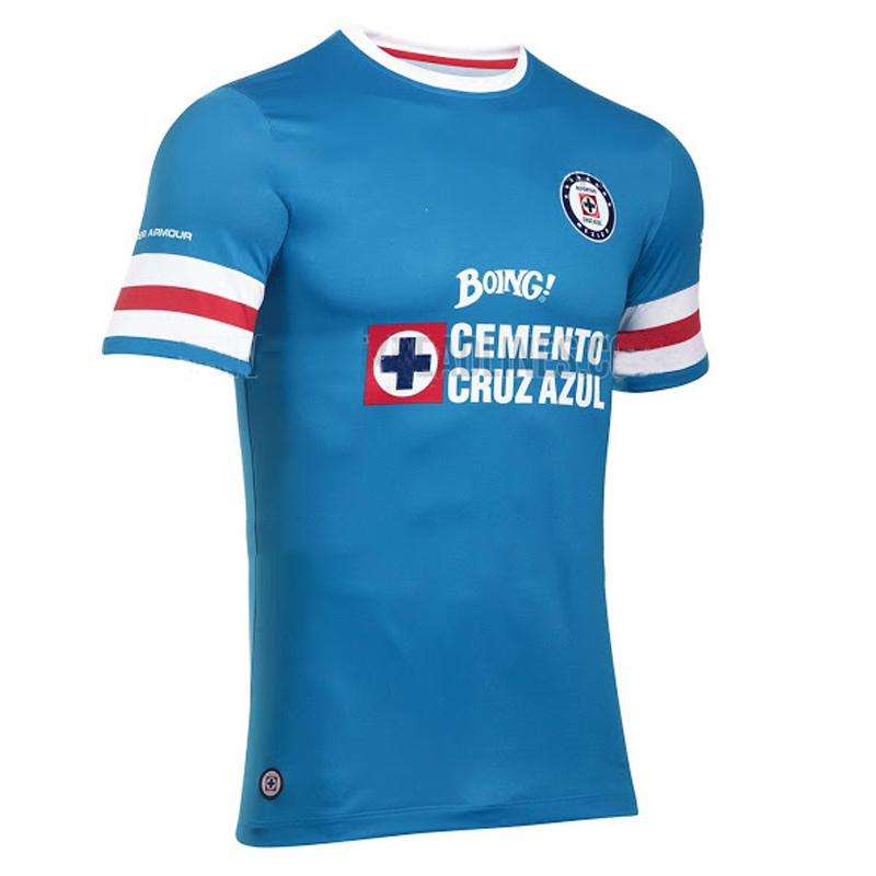 In stock!Mexico CDSC Cruz Azul 2016 17 Home Soccer Jerseys cruz azul FOOTBALL SHIRTS cruz azul Men football clothes Best quality(China (Mainland))