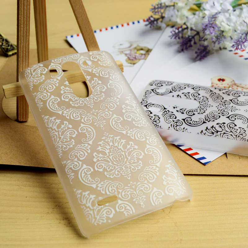 Flower Phone Covers Cases For LG Optimus G3S S G3 Mini G3 Beat D728 D725 D722 D724 Cases Hard Floral Female Plastic back cover(China (Mainland))