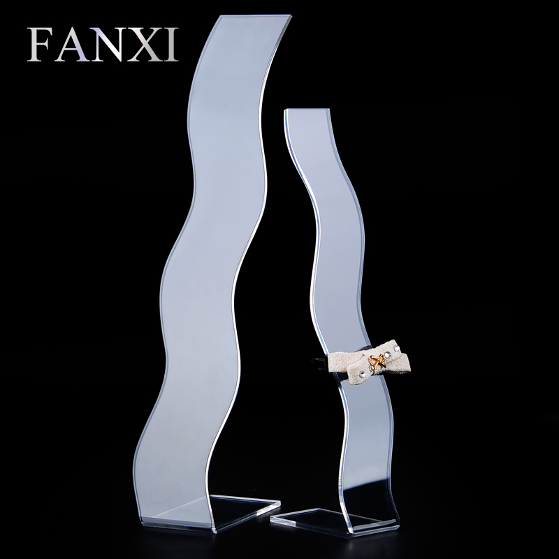 FANXI Free Shipping Creative Design Hairpin Display Shelf Stand Transparent Acylic Board Hair Accessory Exihibitor Shop Stand(China (Mainland))