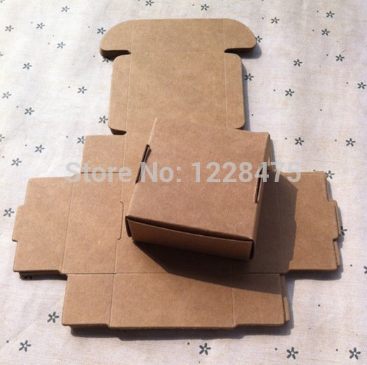 55*55*25mm/Vintage Craft paper Cardboard DIY Multifunction Blank packing box/packing case/clean up box<br><br>Aliexpress