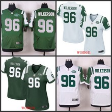 2016 wholesale free shipping 100% Elite men women kid youth New York Jets 96 Muhammad Wilkerson(China (Mainland))