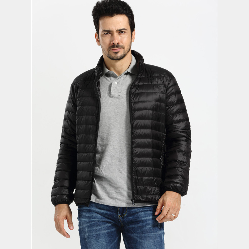 Down Feather Jacket Men | Jackets Review