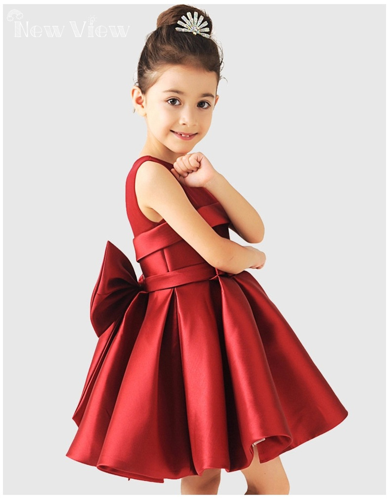 2016 Girl Dress Wedding Party Evening Dresses Baby Girl