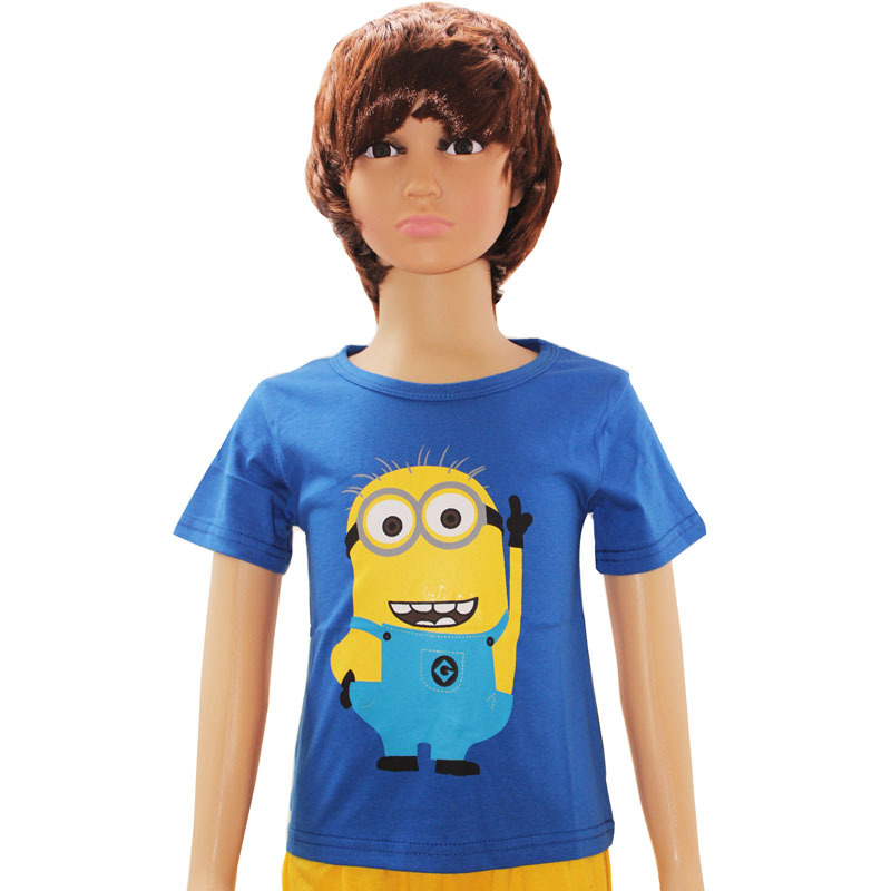 Summer Style Despicable me Kids Baby Children's Clothing tshirt Minions Clothes T Shirts For Girls Boys t-shirts Brand t shirts(China (Mainland))