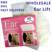 WHOLESALE  Ear Lift of Ear Lobe Support Tape Perfect for protecting ear from heavy big earrings(China (Mainland))