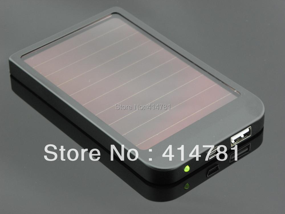 High quality 2600mAh Solar Power bank Solar charger Conversion head 5 + adapter With Retail Package(China (Mainland))