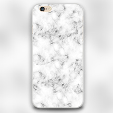 Real Marble Design transparent case cover cell mobile phone cases for Apple iphone 4 4s 5 5c 5s 6 6s 6plus hard shell