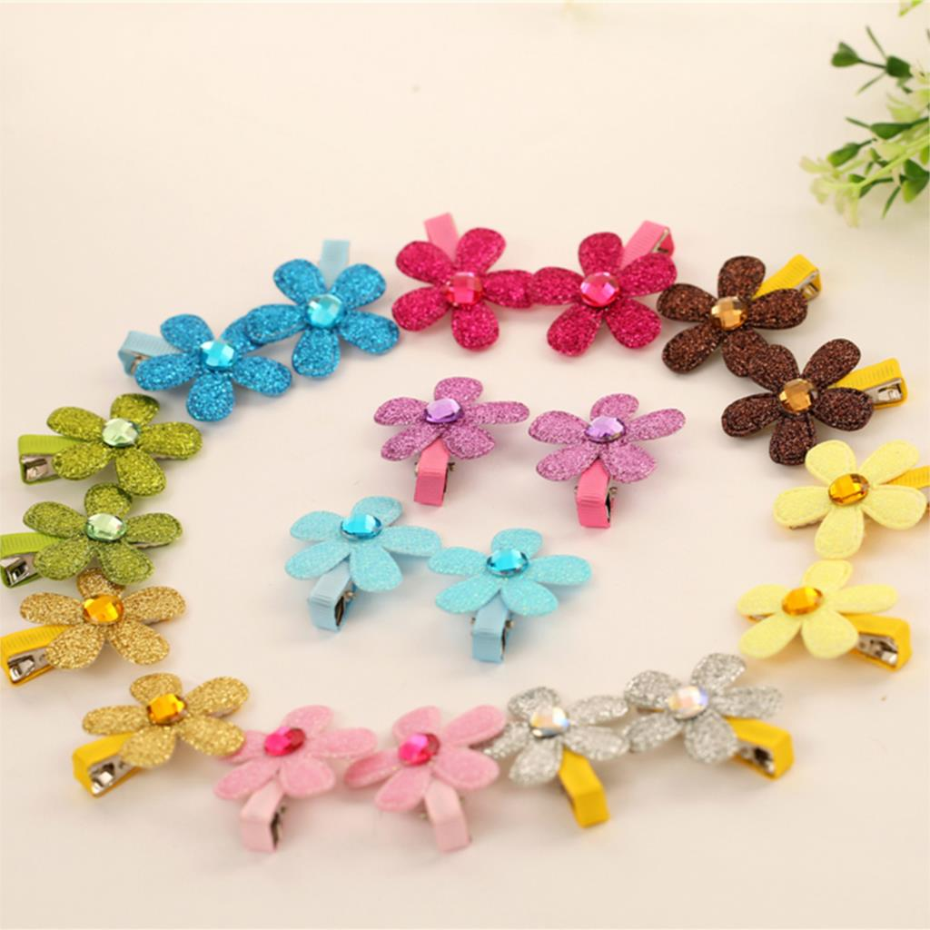 Baby Girl Beautiful Five Petal Cute Hair Accessories Children Hair Infant Hairgrips Summer Style Wholesale Headband 10 Color<br><br>Aliexpress
