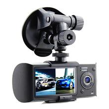 "New R300 Car DVR Camera 1280*480P Dash Cam Dual Camera Vehicle View Dashboard 2.7"" LCD G-sensor 140 Degree(China (Mainland))"