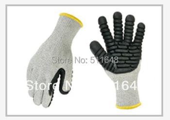 Drop shipping 0096 M/L Super Anti-cut Anti-vibration Gloves,Shockproof gloves